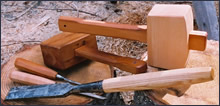 Mallets and Chisel Handles for Woodworking
